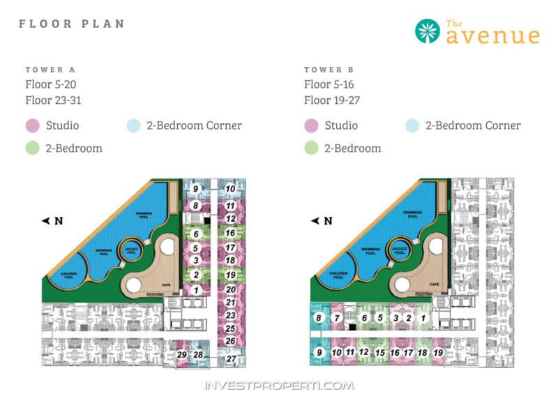 The Avenue Serpong BSD Floor Plan