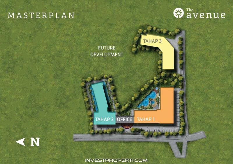 The Avenue Serpong BSD Master Plan