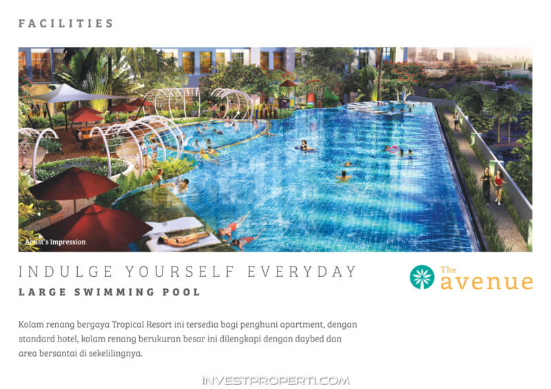 The Avenue Serpong Apartment Facility - Swimming Pool