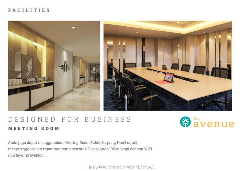 The Avenue Serpong Apartment Facility - Meeting Room