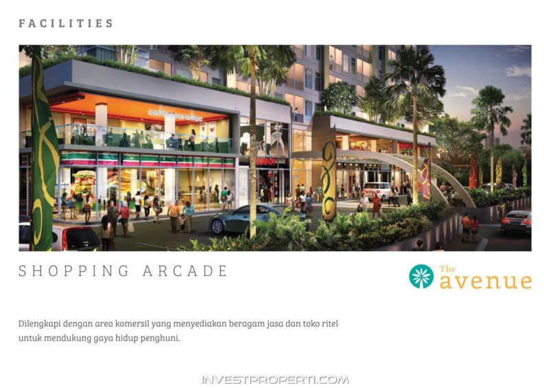 The Avenue Serpong Apartment Facility - Shopping Arcade