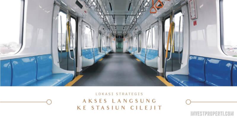Akses langsung stasiun Cilejit