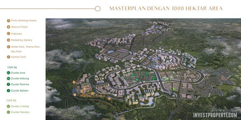 Master Plan Modernland Cilejit
