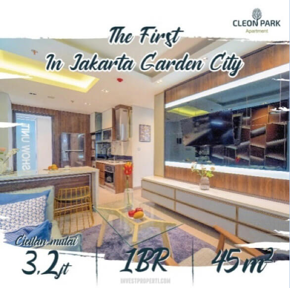 Cicilan Apartemen Cloen Park JGC