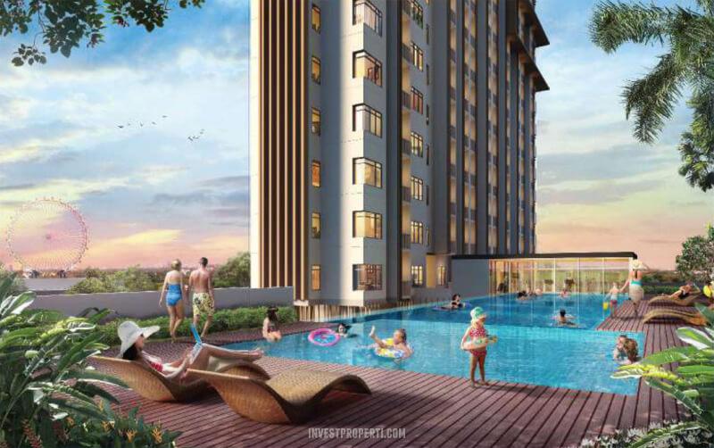 Cleon Apartemen JGC Pool