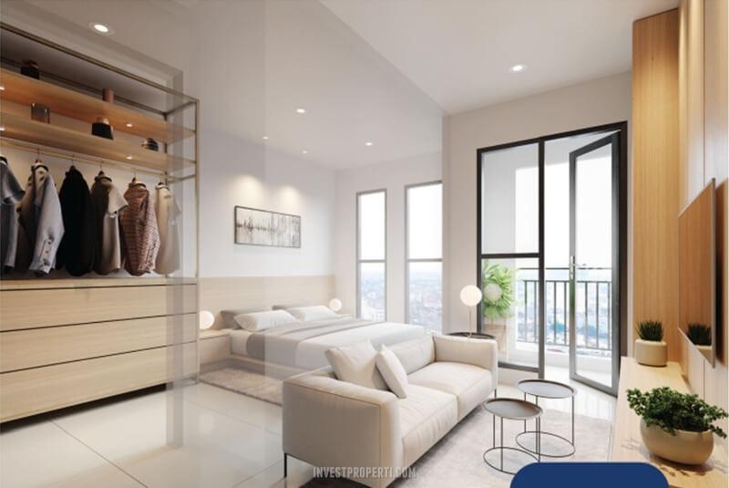 Design Apartemen Vasanta 1 BR Tower Chihana