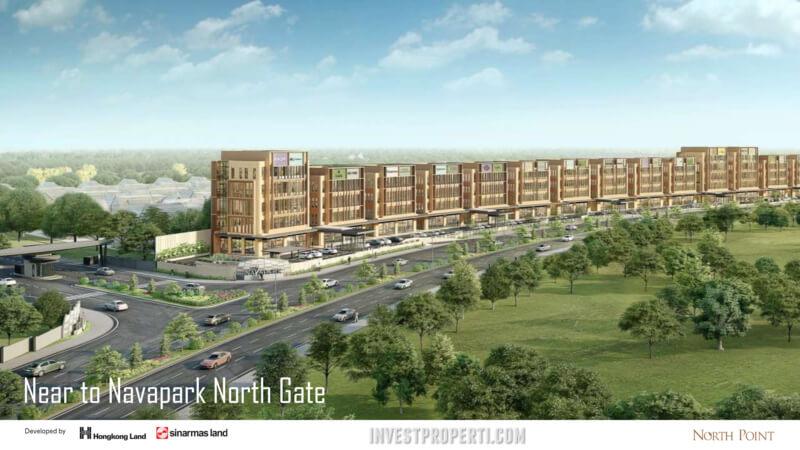 North Point Navapark BSD Gate