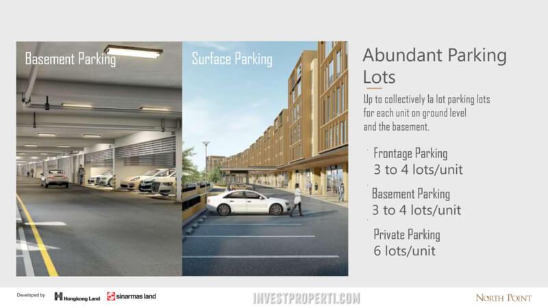 North Point Navapark BSD Parking Lot