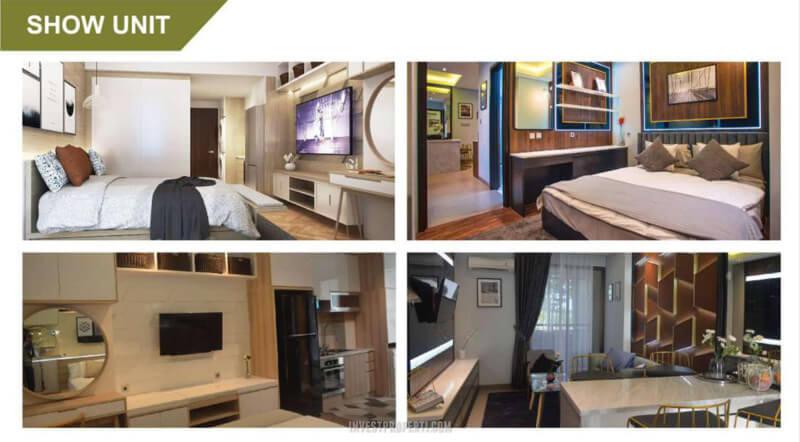 Show Unit Apartemen Cleon Park JGC