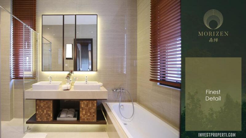 Show Unit Rumah Morizen Bekasi - Bathroom