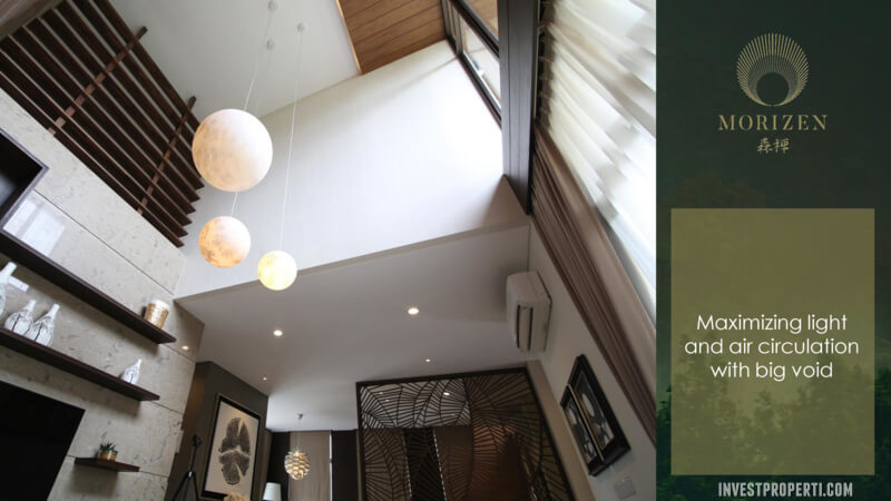Show Unit Rumah Morizen Bekasi - Ceiling