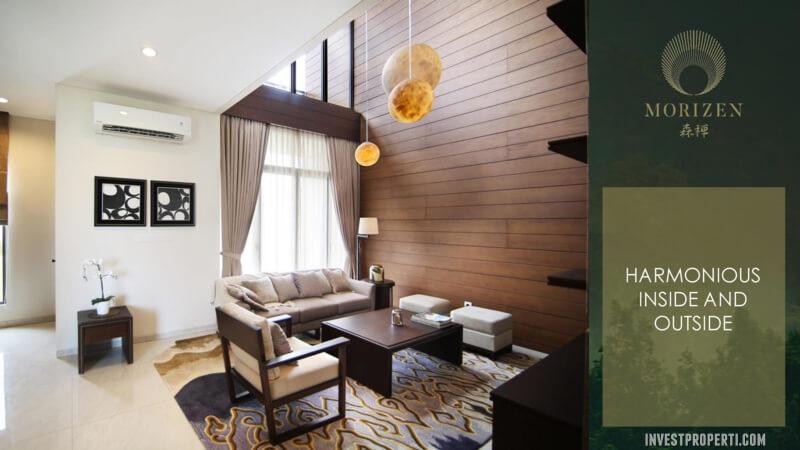 Show Unit Rumah Morizen Bekasi - Living Room