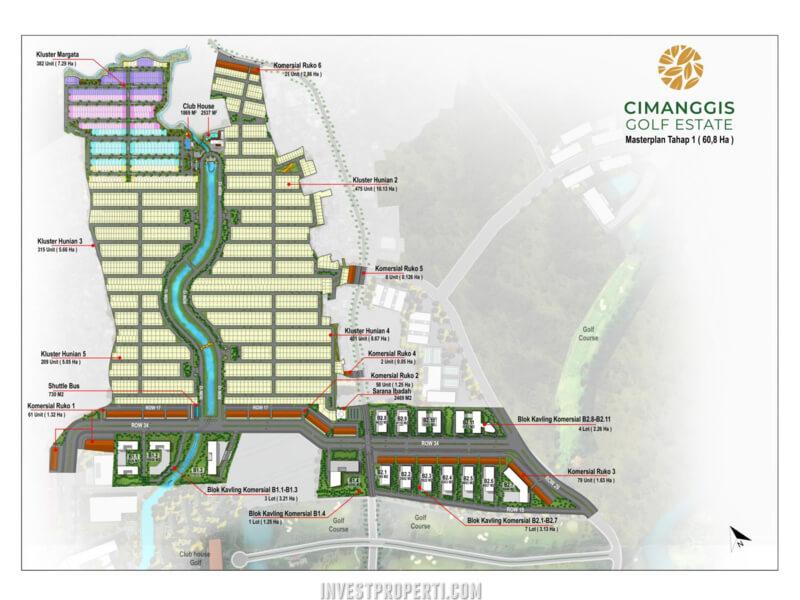 Cimanggis Golf Estate Master Plan