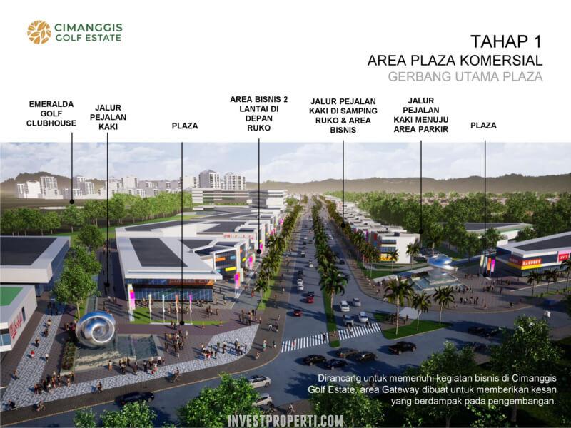 Cimanggis Golf Estate - Plaza Komersial