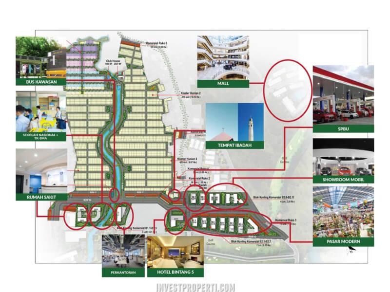 Cimanggis Golf Estate Site Plan