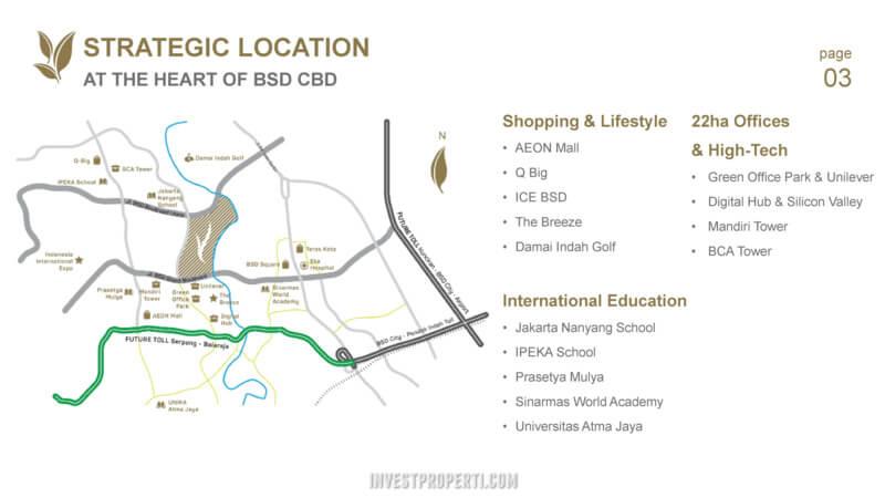 Peta Lokasi Navapark BSD