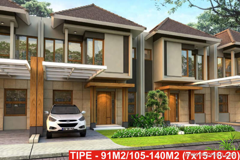 Rumah Cluster Anigre Banjar Wijaya Tipe 105