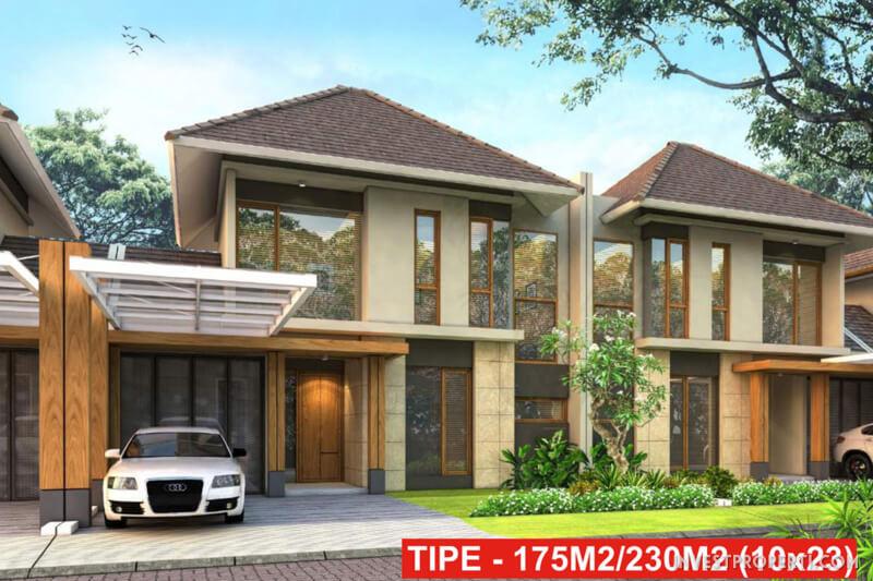 Rumah Cluster Anigre Banjar Wijaya Tipe 1230