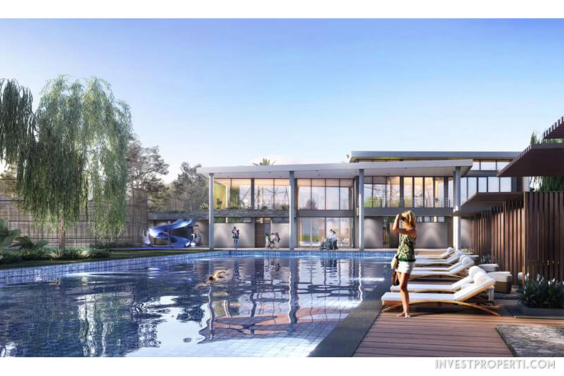 The Club's Pool Pinewood Banjar Wijaya