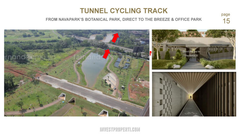 Tunney Cycling Track Navapark BSD to The Breeze BSD