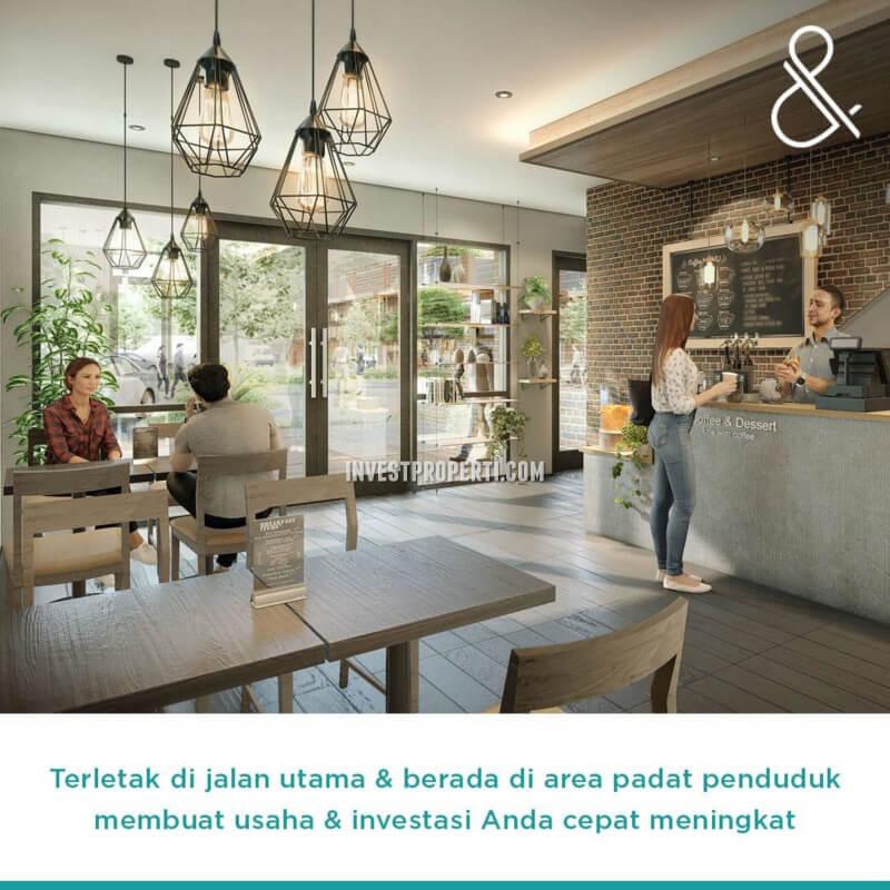 Usaha Cafe Ruko Green Point Harapan Indah Bekasi