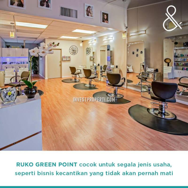 Usaha Salon Ruko Green Point Harapan Indah Bekasi