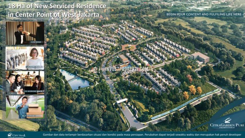 Citra Garden City Master Plan