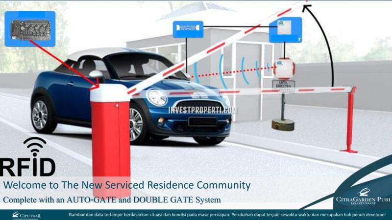 Gate RFID Citra Garden Puri