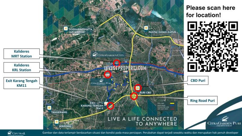 Lokasi Citra Garden Puri Jakarta Barat