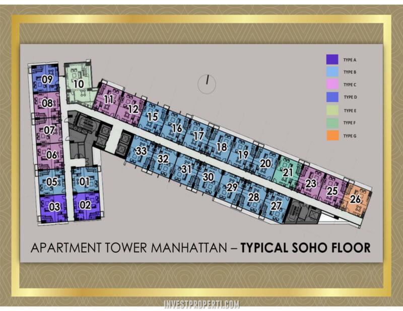 SOHO Transpark Bintaro Floor Plan