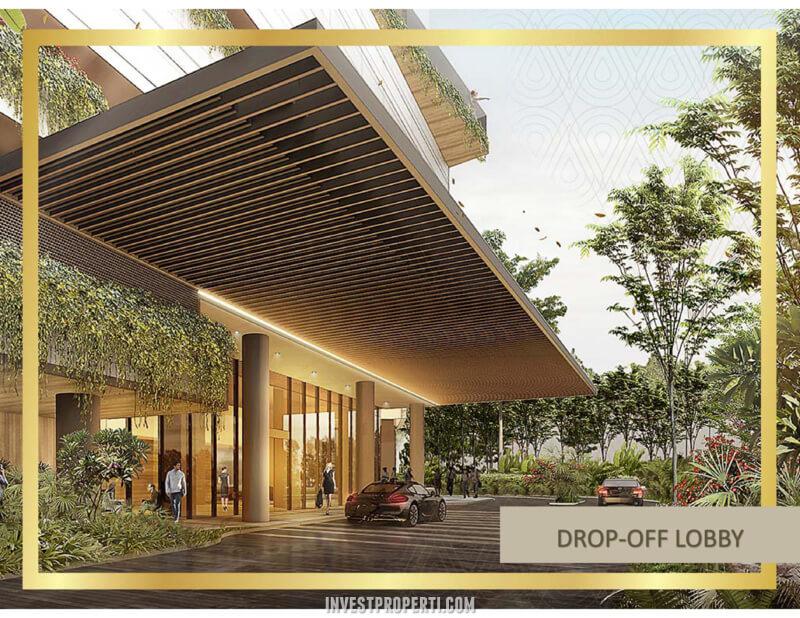 Transpark Bintaro Drop Off Lobby