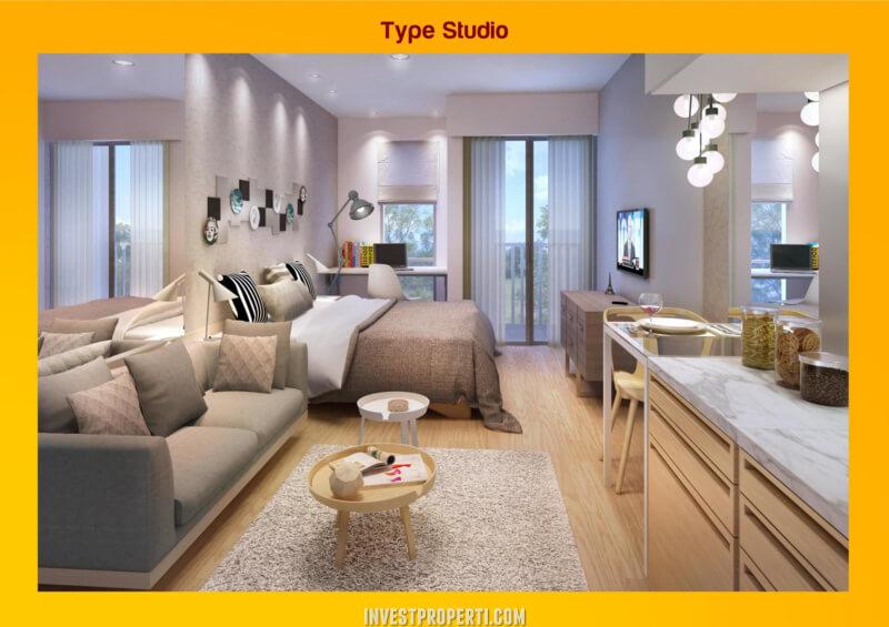 Design Akasa Pure Living Tipe Studio