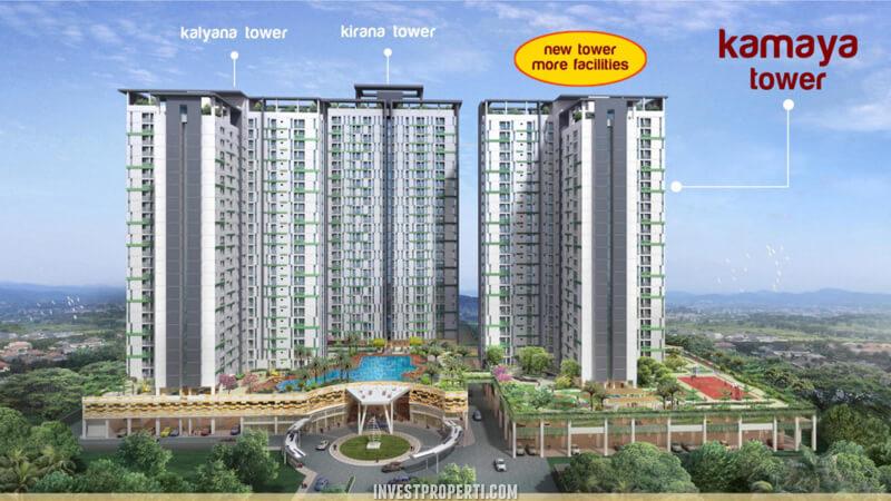 Kamaya Tower Apartemen Akasa Pure Living