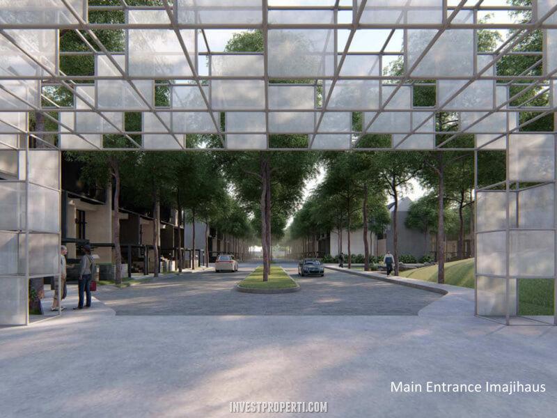 Main Entrance ImajiHaus BSD