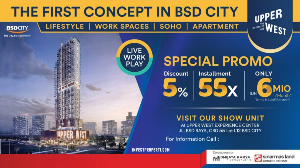 Promo Upper West BSD 2019