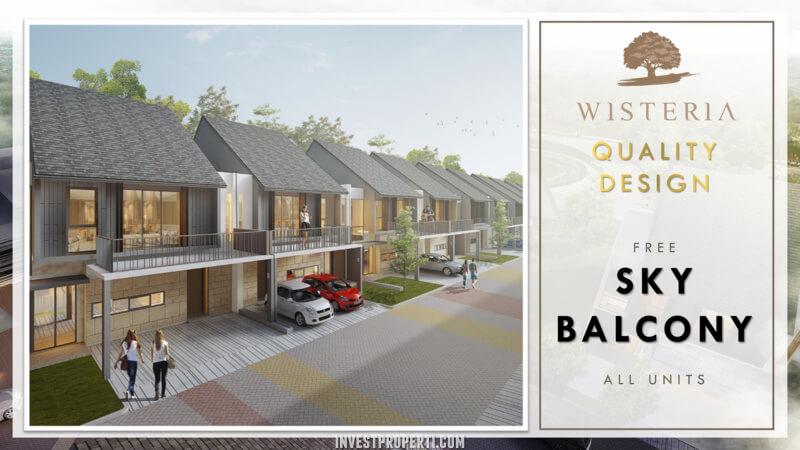 Rumah Wisteria Cakung - Sky Balcony