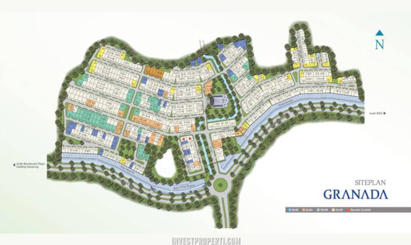 Site Plan Granada Alicante Village