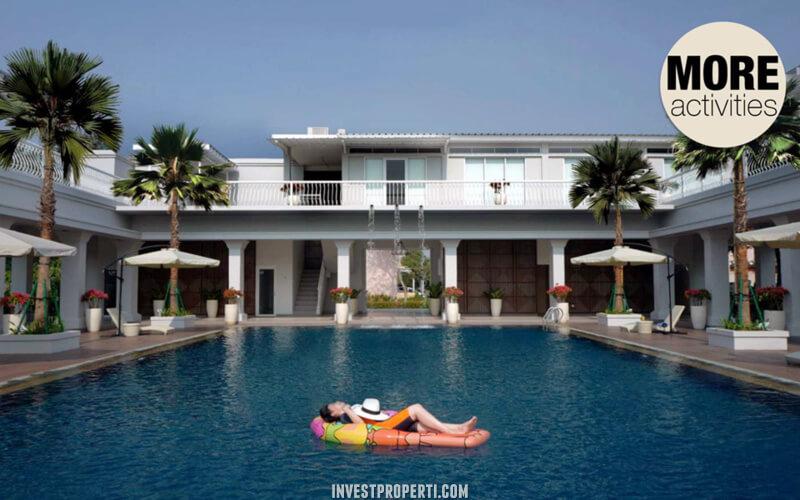 Swimming Pool Alicante Village Paramount