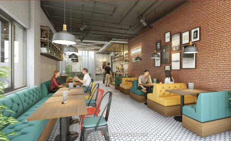Design Ruko Gaia Ayodhya Tangerang