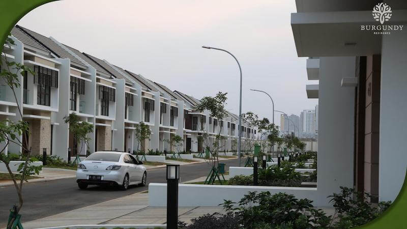 Foto Cluster Burgundy Residence The Orchard Summarecon Bekasi
