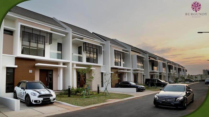 Rumah Burgundy Residence Summarecon Bekasi