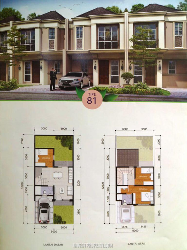 Rumah Savia Park BSD Tipe 81