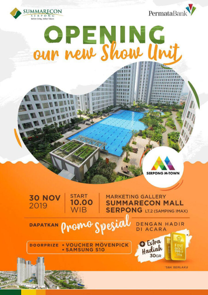 Promo Special Serpong MTown 2019