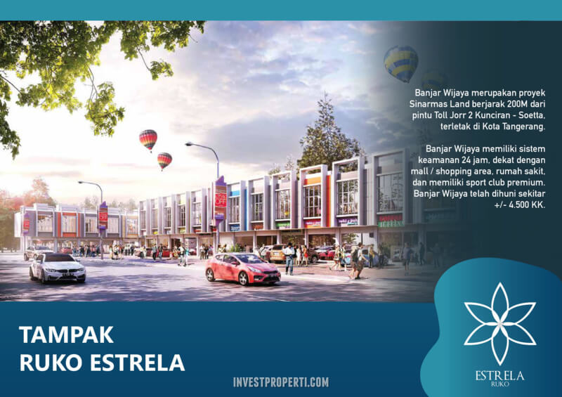 Ruko Estrela Banjar Wijaya Tangerang