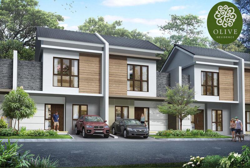Rumah Olive Residence Summarecon Bekasi