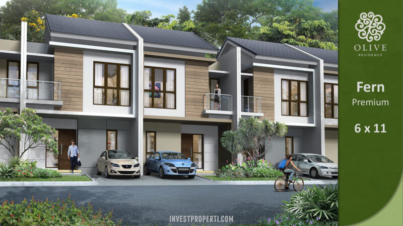 Rumah Olive Residence Summarecon Bekasi Tipe Fern Premium