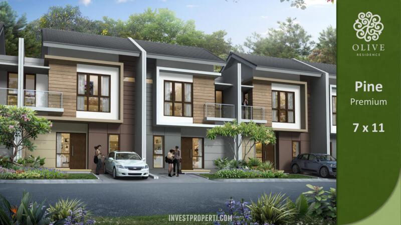 Rumah Olive Residence Summarecon Bekasi Tipe Pine Premium