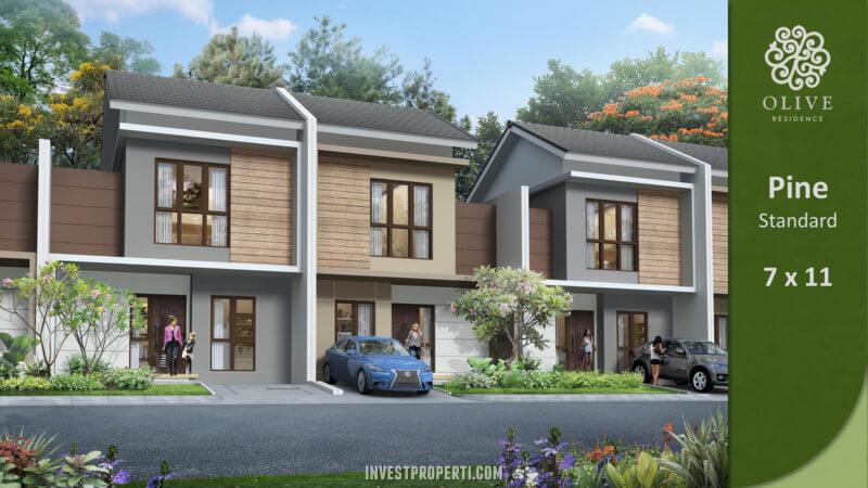 Rumah Olive Residence Summarecon Bekasi Tipe Pine Standard