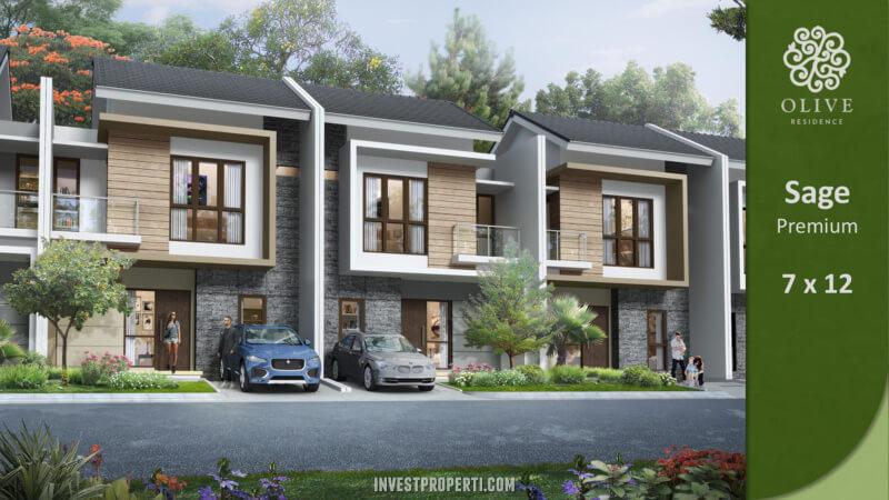 Rumah Olive Residence Summarecon Bekasi Tipe Sage Premium