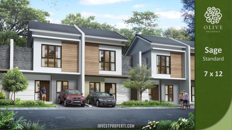 Rumah Olive Residence Summarecon Bekasi Tipe Sage Standard